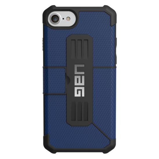 Чехол UAG Metropolis Series Case для iPhone 6/6s/7/8 синийЧехлы для iPhone 6/6s<br>UAG Metropolis Series Case обеспечивает защиту на все 360°!<br><br>Цвет товара: Синий<br>Материал: Термопластичный полиуретан, поликарбонат