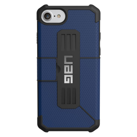 Чехол UAG Metropolis Series Case для iPhone 6/6s/7 синийЧехлы для iPhone 6/6s<br>UAG Metropolis Series Case обеспечивает защиту на все 360°!<br><br>Цвет товара: Синий<br>Материал: Пластик