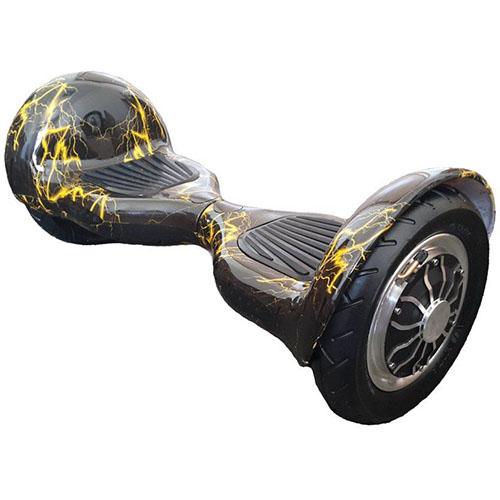 Гироскутер AsixBot 10 Жёлтая молнияГироскутеры<br>Гироскутер AsixBot — современное и маневренное средство передвижения.<br><br>Цвет товара: Жёлтый<br>Материал: Металл, пластик