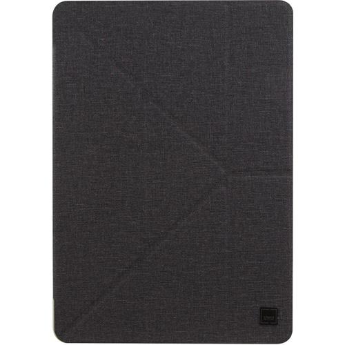 Чехол Uniq Yorker Kanvas для iPad Pro 10.5 чёрныйЧехлы для iPad Pro 10.5<br>Компания Uniq широко известна благодаря выпуску стильных и качественных аксессуаров, в частности, защитных чехлов.<br><br>Цвет товара: Чёрный<br>Материал: Пластик, текстиль