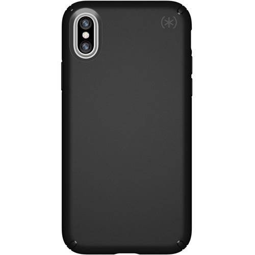 Чехол Speck Presidio для iPhone X чёрныйЧехлы для iPhone X<br>Надежный чехол Speck Presidio является превосходной защитой для вашего iPhone X.<br><br>Цвет товара: Чёрный<br>Материал: Поликарбонат