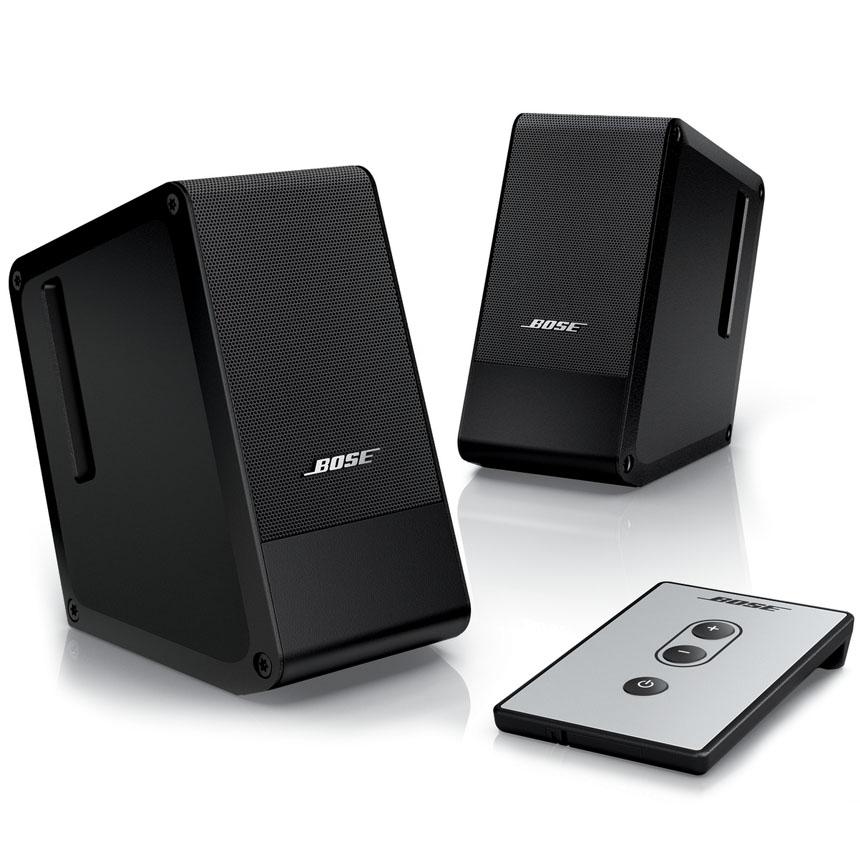 Акустическая система BOSE Computer MusicMonitor чёрнаяКолонки и акустика<br>Computer MusicMonitor – лучшая двухкомпонентная настольная акустическая система!<br><br>Цвет товара: Чёрный<br>Материал: Алюминий, пластик