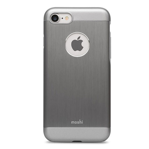 Чехол Moshi Armour для iPhone 7, iPhone 8 графитовыйЧехлы для iPhone 7<br>Moshi Armour имеет необходимые вырезы под функциональные элементы и полностью соответствует всем требованиям эффективной эксплуатации Вашего ...<br><br>Цвет товара: Серый<br>Материал: Металл, поликарбонат
