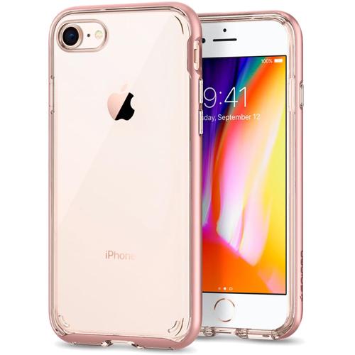 Чехол Spigen Neo Hybrid Crystal 2 для iPhone 8 розовое золото (054CS22364)Чехлы для iPhone 8<br><br><br>Цвет товара: Розовое золото<br>Материал: Термопластичный полиуретан, поликарбонат