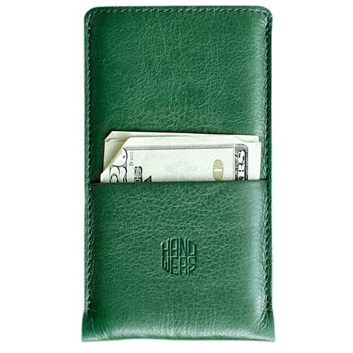 Чехол Handwers Hike Plus для iPhone 5/5S/SE зеленыйЧехлы для iPhone 5/5S/SE<br>Чехол Handwers Hike Plus для iPhone 5S/SE Зеленый<br><br>Цвет товара: Зелёный<br>Материал: Натуральная кожа, войлок