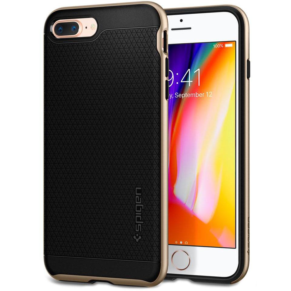 Чехол Spigen Neo Hybrid 2 для iPhone 7 Plus, iPhone 8 Plus шампань (055CS22375)Чехлы для iPhone 7 Plus<br>Spigen Neo Hybrid 2 двухслойный чехол, который обеспечивает полную защиту вашего смартфона.<br><br>Цвет товара: Золотой<br>Материал: Поликарбонат, полиуретан
