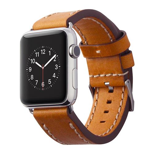 Ремешок Cozistyle Leather Band для Apple Watch 42мм светло-коричневыйРемешки для Apple Watch<br>Cozistyle Leather Band - это стильный ремешок для умных часов Apple Watch 42мм.<br><br>Цвет товара: Коричневый<br>Материал: Натуральная кожа, нержавеющая сталь
