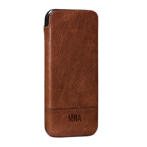 Чехол Sena Heritage UltraSlim для iPhone 6 / iPhone 6s / iPhone 7 коричневыйЧехлы для iPhone 7<br>Sena Heritage UltraSlim из натуральной кожи - гарантия вашего безупречного стиля!<br><br>Цвет товара: Коричневый