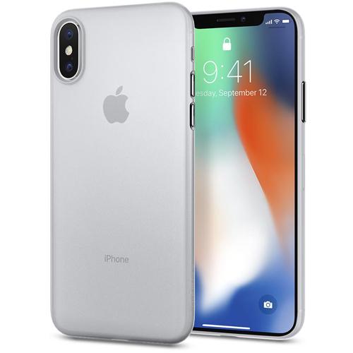 Чехол Spigen Case Air Skin для iPhone X прозрачный матовый (057CS22115)Чехлы для iPhone X<br>Spigen Case Air Skin — для тех, кто предпочитает классику и минимализм.<br><br>Цвет товара: Прозрачный<br>Материал: Поликарбонат