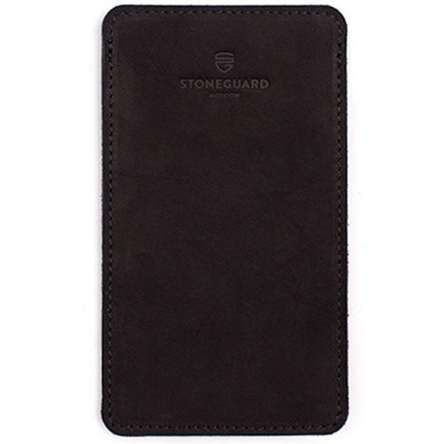 Кожаный чехол Stoneguard для iPhone 6/6s/7 Plus Black (511)Чехлы для iPhone 6s PLUS<br>Кожаный чехол Stoneguard для iPhone 6/6s/7 Plus Black (511)<br><br>Цвет товара: Чёрный<br>Материал: Натуральная кожа, войлок
