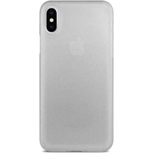 Чехол Uniq Bodycon для iPhone X полупрозрачныйЧехлы для iPhone X<br>Тонкий словно лепесток цветка и невероятный легкий чехол Uniq Bodycon повторяет плавные контуры вашего iPhone Х, и обеспечивает непревзойденную за...<br><br>Цвет товара: Прозрачный<br>Материал: Поликарбонат, полиуретан
