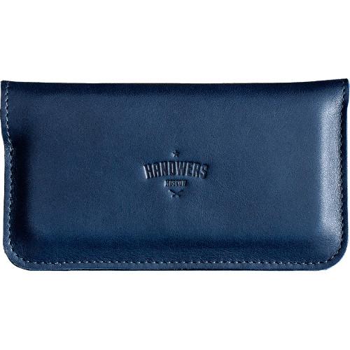 Чехол Handwers Ranch для iPhone 5/5S/SE СинийЧехлы для iPhone 5/5S/SE<br>Handwers Ranch - одновременно чехол для смартфона и бумажник.<br><br>Цвет товара: Синий<br>Материал: Натуральная кожа, войлок