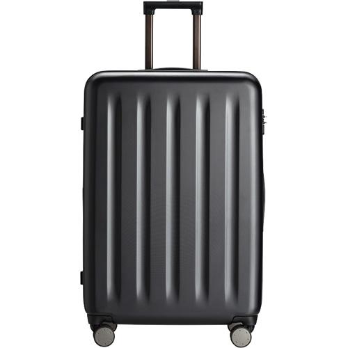 Чемодан Xiaomi Mi Trolley 90 Points 28 дюймовСумки и аксессуары для путешествий<br>Xiaomi Mi Trolley 90 Points —это противоударный и удобный чемодан для путешествий, имеющий бесшумные и маневренные колеса, а также кодовый замок.<br><br>Цвет товара: Чёрный<br>Материал: Поликарбонат (Makrolon), алюминий, текстиль