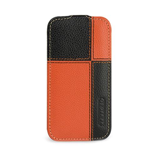 Чехол TETDED Troyes Plutus для Samsung GALAXY S4 оранжевый/чёрный