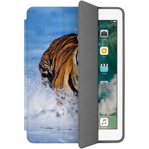 Чехол Muse Smart Case для iPad 9.7 (2017) ТигрЧехлы для iPad 9.7 (2017)<br>Чехлы Muse — это индивидуальность, насыщенность красок, ультрасовременные принты и надёжность.<br><br>Цвет: Разноцветный<br>Материал: Поликарбонат, полиуретановая кожа