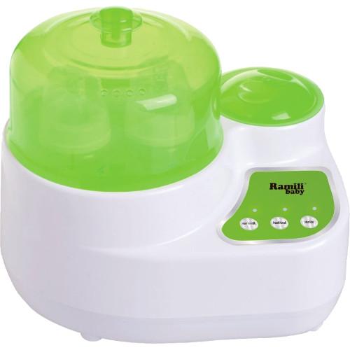 Стерилизатор-подогреватель бутылочек и детского питания 3 в 1 Ramili Baby BSS250Товары умного дома, офиса<br>Стерилизатор-подогреватель бутылочек и детского питания 3 в 1 Ramili Baby BSS250<br><br>Цвет товара: Белый<br>Материал: Пластик