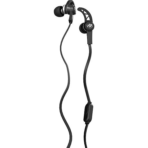 Наушники iFrogz Summit EarBuds чёрныеВнутриканальные наушники<br>Небольшие динамики наушников выдают отличного качества звук, глубокий и насыщенный от самых ярких высоких до бархатных басовых нот.<br><br>Цвет товара: Чёрный<br>Материал: Пластик, силикон