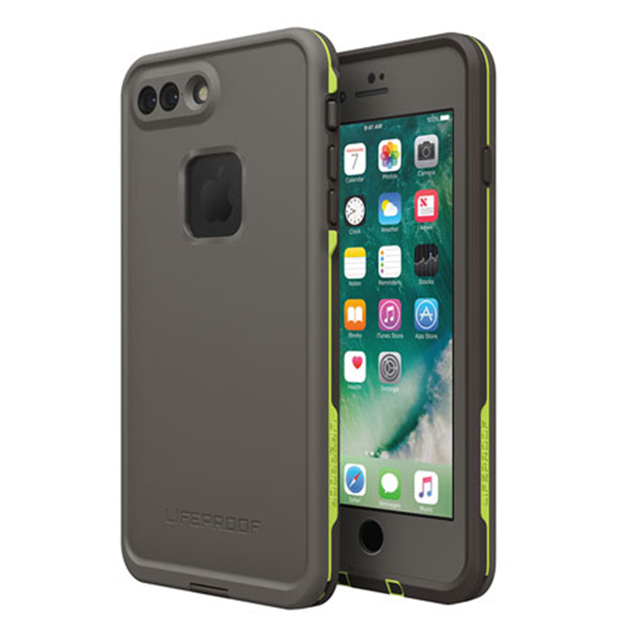 Чехол Lifeproof Fre для iPhone 7 Plus серыйЧехлы для iPhone 7 Plus<br>Lifeproof Fre для iPhone 7 Plus — водонепроницаемый и максимально лёгкий, прочный чехол.<br><br>Цвет товара: Серый<br>Материал: Пластик