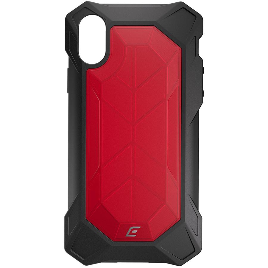 Чехол Element Case Rev для iPhone X красныйЧехлы для iPhone X<br>Element Case идут рука об руку со всеми новыми iPhone, создавая им самую лучшую защиту из всех возможных.<br><br>Цвет товара: Красный<br>Материал: Поликарбонат (PC), термопластичный полиуретан (TPU)