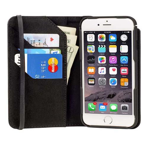 Чехол NiteIze Connect Wallet &amp; Case для  iPhone 6/6sЧехлы для iPhone 6/6s<br>Чехол Nitelze Connect Wallet Case for iPhone 6/6s<br><br>Материал: Пластик, кожа