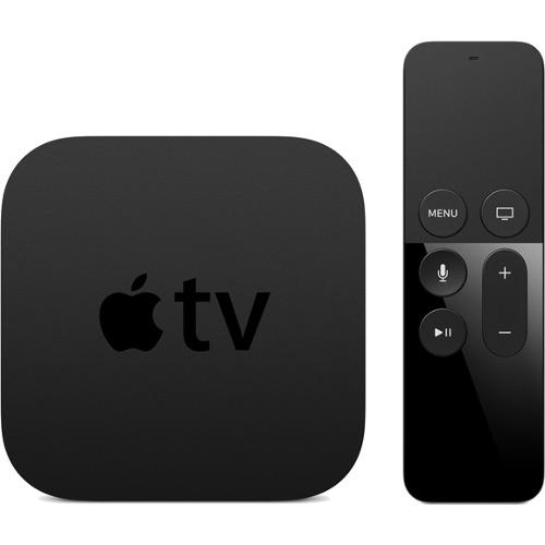 Телевизионная приставка Apple TV нового поколения (4 поколение) 64 ГбAppleTV и Chromecast<br>Apple TV — новая эра телевидения!<br><br>Цвет товара: Чёрный<br>Материал: Пластик<br>Модификация: 64 Гб