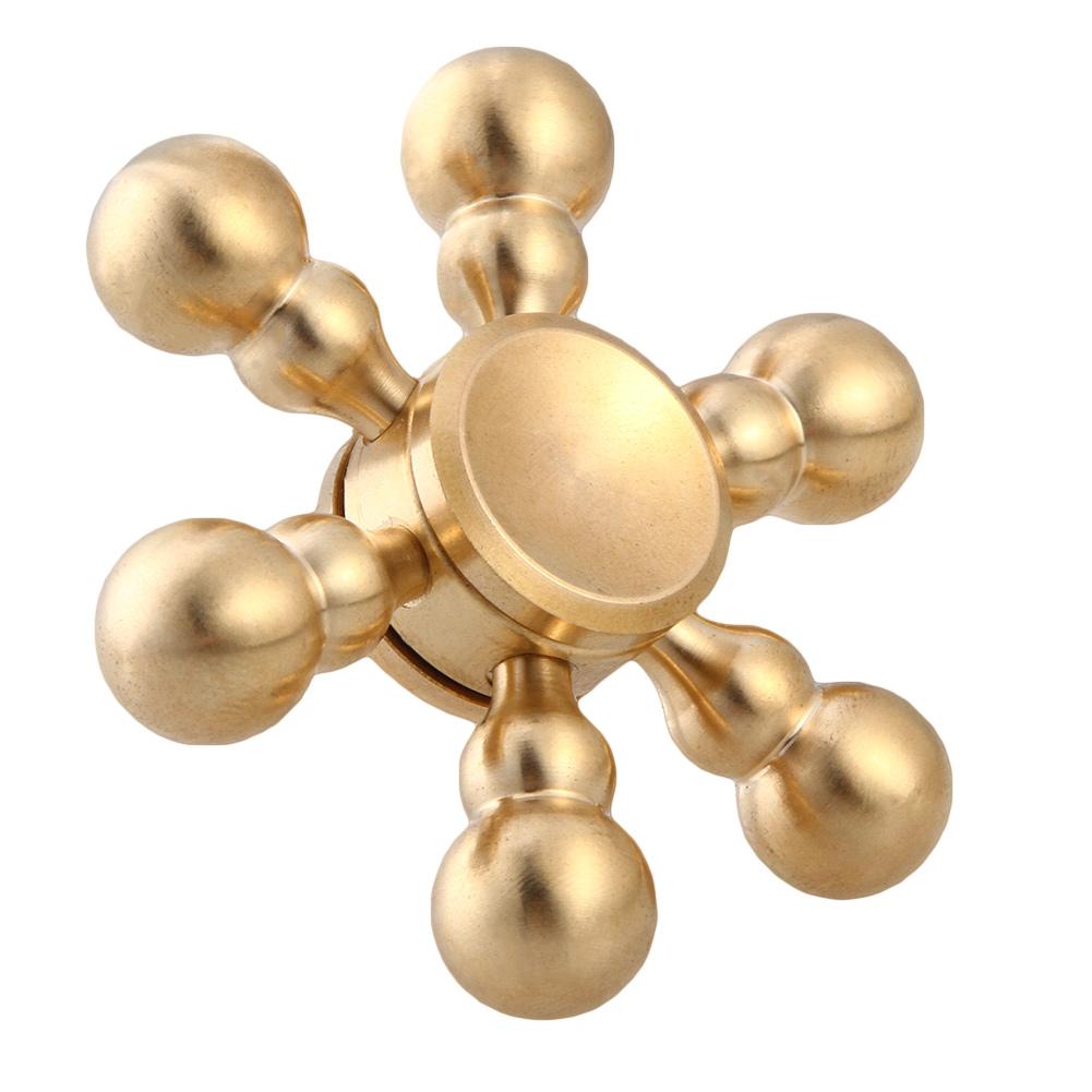 Спиннер EDC Metal Series Молекула SP4585Игрушки-антистресс<br>Спиннеры от EDC крутятся невероятно долго!<br><br>Цвет товара: Золотой<br>Материал: Алюминий