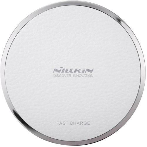 Беспроводное зарядное устройство Nillkin Qi Wireless Charger Magic Disk III белоеСетевые и беспроводные зарядки<br>Быстрая и надёжная зарядка для ваших устройств с поддержкой технологии Qi.<br><br>Цвет товара: Белый<br>Материал: Алюминий, пластик