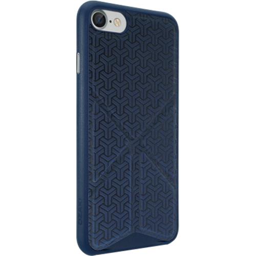 Чехол Ozaki O!coat 0.3+Totem Versatile для iPhone 7 (Айфон 7) тёмно-синийЧехлы для iPhone 7<br>Чехол Ozaki Jelly 0.3 + Totem Versalite для iPhone 7 - темно-синий<br><br>Цвет товара: Синий<br>Материал: Поликарбонат, полиуретановая кожа
