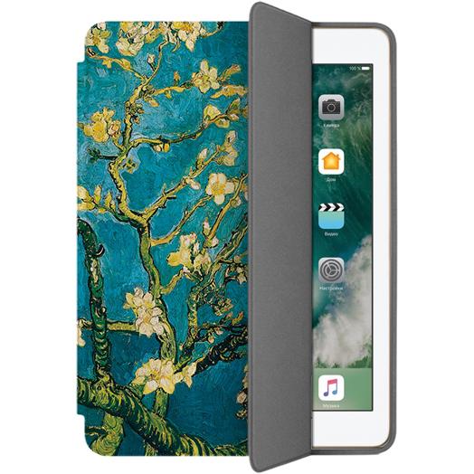 Чехол Muse Smart Case для iPad 9.7 (2017) Ветка в цветахЧехлы для iPad 9.7 (2017)<br>Чехлы Muse — это индивидуальность, насыщенность красок, ультрасовременные принты и надёжность.<br><br>Цвет товара: Бирюзовый<br>Материал: Поликарбонат, полиуретановая кожа