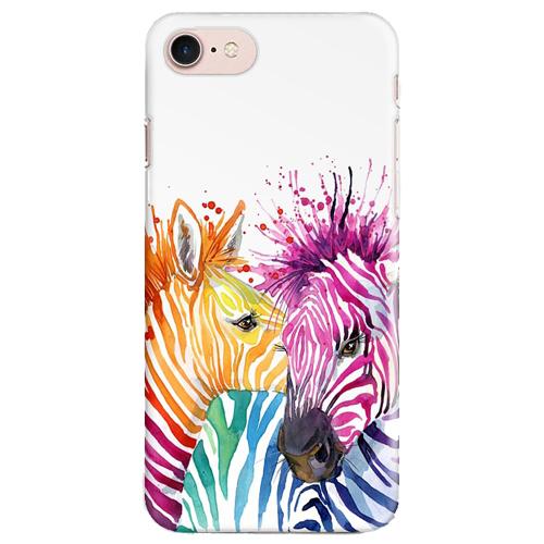 Чехол iPapai для iPhone 7 «Животные» (Зебры)Чехлы для iPhone 7/7 Plus<br>Креативный силиконовый чехол iPapai с уникальным дизайнерским принтом для iPhone 7.<br><br>Цвет товара: Разноцветный<br>Материал: Силикон