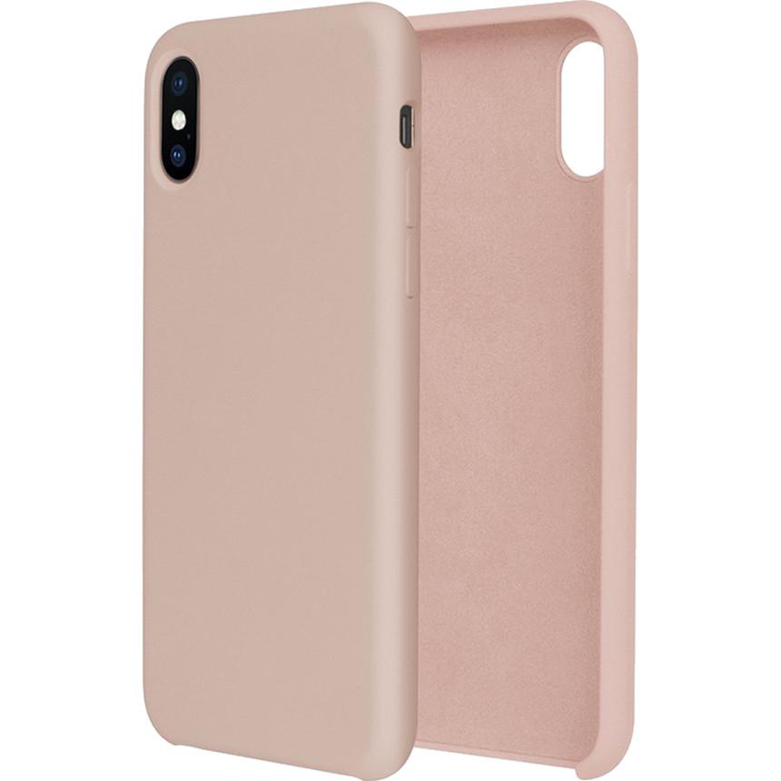 Силиконовый чехол G-CASE Original Flexible Silicone Gel Case для iPhone X Розовый песокЧехлы для iPhone X<br>Чехол из гелеобразного силикона с мягкой подкладой из микрофибры. Он гибкий и лёгкий, идеально облегающий корпус мощного смартфона iPhone X.<br><br>Цвет товара: Розовый<br>Материал: Гелеобразный гиппоаллергенный силикон, микрофибра