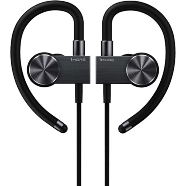 Наушники 1More EB100 Bluetooth Sports Active черные (1MEJE0001)Внутриканальные наушники<br>1 MORE неуклонно придерживаются стиля скандинавского минимализма.<br><br>Цвет товара: Чёрный<br>Материал: Пластик, силикон