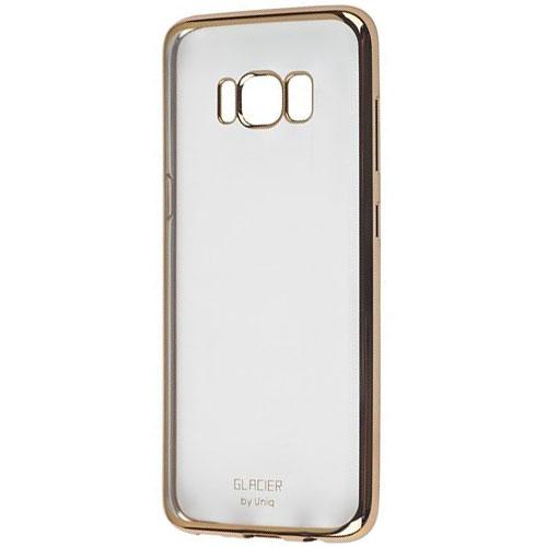 Чехол Uniq Glacier Glitz для Samsung Galaxy S8 золотойЧехлы для Samsung Galaxy S8/S8 Plus<br>Uniq Glacier Glitz - тонкий, но невероятно прочный чехол!<br><br>Цвет: Золотой<br>Материал: Полиуретан, металл
