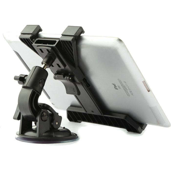Автодержатель Dodo Holder Tablet для планшетов 7-10 на присоскеАвтодержатели<br>Для тех, кто любит использовать свой iPad или Android планшет для навигации и развлечения в дороге, компания Dodo предлагает универсальный автомоб...<br><br>Цвет товара: Чёрный<br>Материал: Пластик, металл