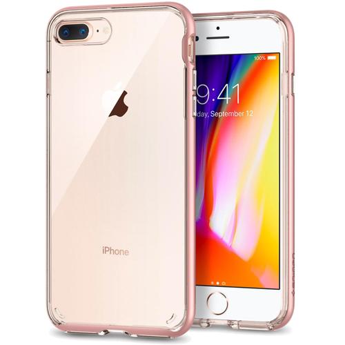 Чехол Spigen Neo Hybrid Crystal 2 для iPhone 8 Plus розовое золото (055CS22369)Чехлы для iPhone 8 Plus<br>Используя прочный чехол Spigen Neo Hybrid Crystal 2 вы будете уверены, что ваш iPhone 8 Plus под надёжной защитой превосходного чехла.<br><br>Цвет товара: Розовое золото<br>Материал: Термопластичный полиуретан, поликарбонат