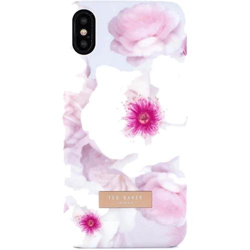 Чехол Ted Baker KAMALA (53086) для iPhone X (Chelsea Grey)Чехлы для iPhone X<br>Прочные чехлы-накладки от знаменитого бренда Ted Baker отличаются изысканным и оригинальным дизайном.<br><br>Цвет товара: Серый<br>Материал: Поликарбонат, полиуретан