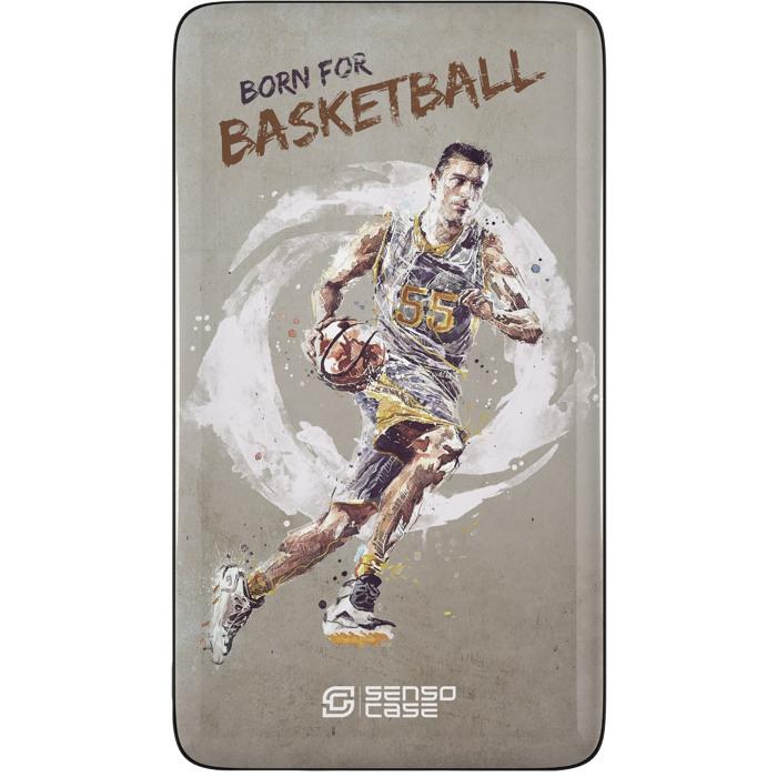 Внешний аккумулятор Sensocase Share Your Passion (10000 мАч) БаскетболДополнительные и внешние аккумуляторы<br>Расскажите о своем увлечении всему миру!<br><br>Цвет товара: Разноцветный<br>Материал: Пластик, силикон