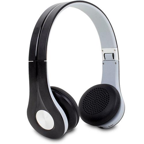 Наушники Satechi F3 Wireless Stereo Headphones (ST-61BTH) чёрно-белыеНакладные наушники<br>Беспроводные наушники Satechi F3 [ST-61BTH]<br><br>Цвет товара: Чёрный<br>Материал: Пластик, нержавеющая сталь