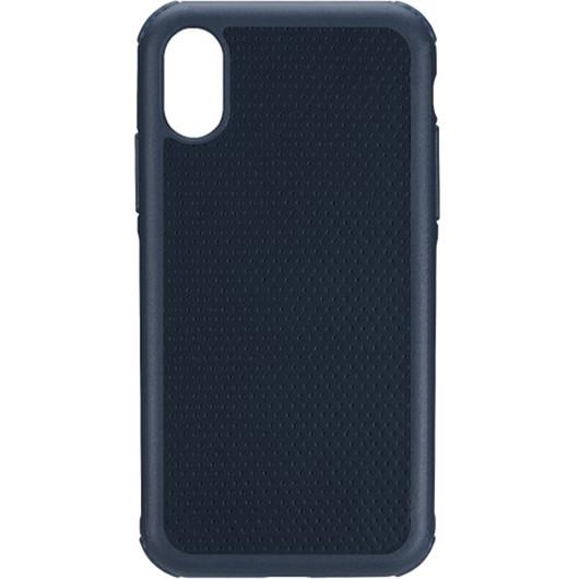 Чехол Just Mobile Quattro Air для iPhone X синийЧехлы для iPhone X<br>Чехол Just Mobile Quattro Air даёт вашему iPhone максимальную защиту без дополнительного объёма и утяжеления.<br><br>Цвет товара: Синий<br>Материал: Силикон, термопластичный полиуретан