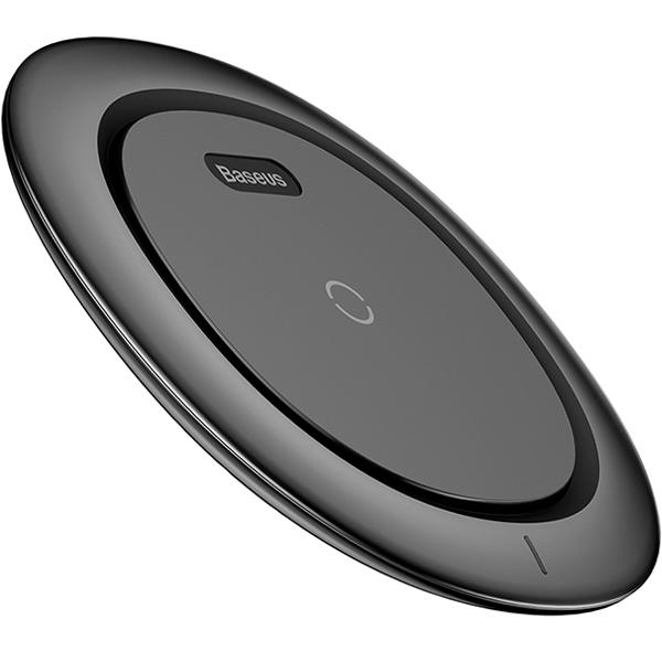 Беспроводное зарядное устройство Baseus UFO Desktop Wireless Charger чёрноеСетевые зарядки<br>Надёжная и быстрая зарядка для ваших гаджетов!<br><br>Цвет товара: Чёрный<br>Материал: Пластик
