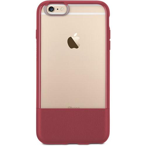 Чехол OtterBox Statement Series для iPhone 6/6S красныйЧехлы для iPhone 6/6s<br>Чехол OtterBox Statement Series для iPhone 6/6s - красный<br><br>Цвет товара: Красный<br>Материал: Натуральная кожа, пластик