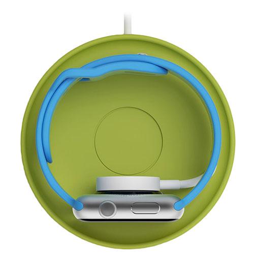 Подставка Bluelounge Kosta для Apple Watch зелёнаяУмные часы и аксессуары<br>Подставка Bluelounge Kosta для Apple Watch - зеленый пластик<br><br>Цвет товара: Зелёный