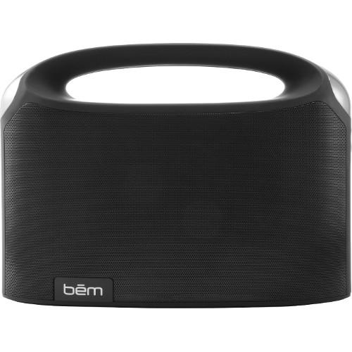 Акустическая система Bem Boom Box чёрнаяКолонки и акустика<br>Акустическая система BEM wireless boom box<br><br>Цвет товара: Чёрный<br>Материал: Пластик