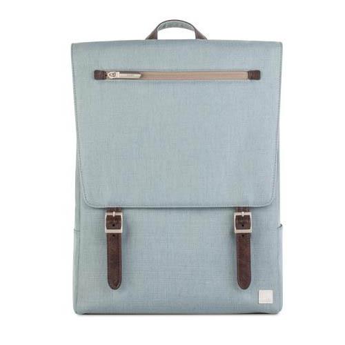 Рюкзак Moshi Helios Lite Designer для MacBook 13 голубойРюкзаки<br>Рюкзак Moshi Helios Lite Designer дизайнерский рюкзак для MacBook из погодоустойчивых материалов с элегантной кожаной отделкой.<br><br>Цвет товара: Голубой<br>Материал: Текстиль, кожа