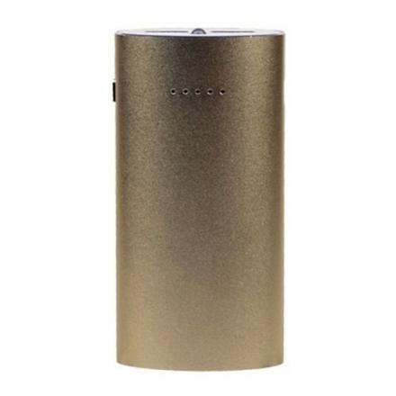 Дополнительный (внешний) аккумулятор Maxtop Aluminium 5200 мАч золотойДополнительные и внешние аккумуляторы<br>Дополнительный (внешний) аккумулятор Maxtop Aluminium 5200 мАч идеален для зарядки планшетов, смартфонов, плееров, фотоаппаратов и других устройств.<br><br>Цвет товара: Золотой<br>Материал: Алюминиевый сплав
