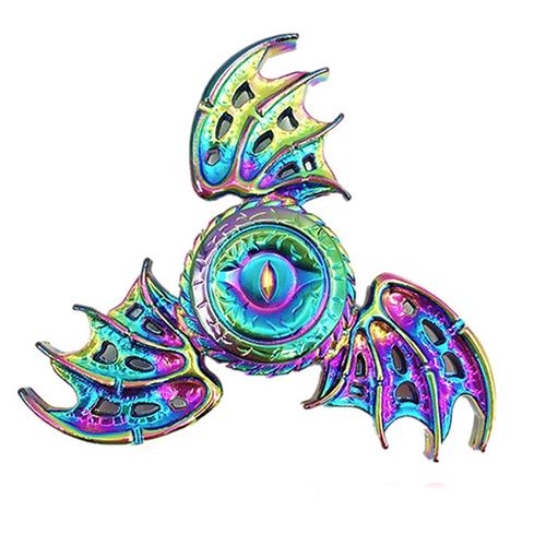 Спиннер Fidget Glory Rainbow Series Глаз с крыльями SP4577Игрушки-антистресс<br>Благодаря покрытию «хамелеон» спиннер Fidget Glory захватывает внимание с первой секунды!<br><br>Цвет товара: Разноцветный<br>Материал: Металл