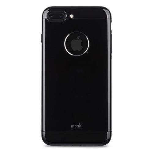 Чехол Moshi Armour для iPhone 7 Plus (Айфон 7 Плюс) Jet Black чёрный ониксЧехлы для iPhone 7 Plus<br>Moshi Armour - это непревзойденный внешний вид и надежная защита.<br><br>Цвет товара: Чёрный оникс<br>Материал: Металл, поликарбонат
