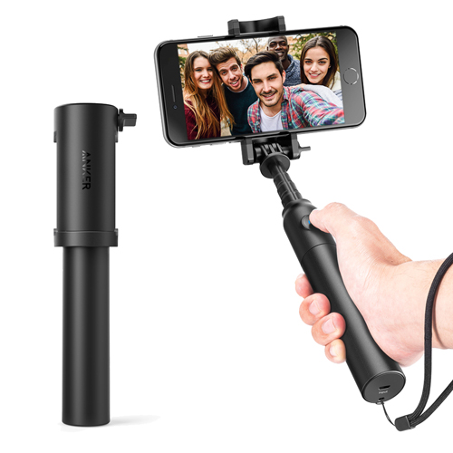 Монопод Anker Bluetooth Selfie Stick (A7161011) чёрный от iCases
