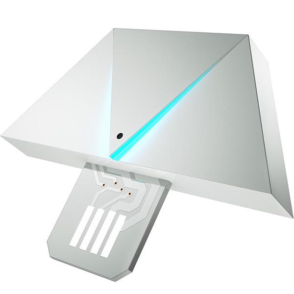 Дополнительный модуль Nanoleaf Rhythm для системы освещения Nanoleaf AuroraУмные лампы<br>Благодаря Nanoleaf Rhythm музыка превратиться в свет!<br><br>Цвет: Белый<br>Материал: Пластик