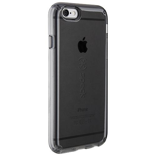 Чехол Speck CandyShell Clear для iPhone 6/6s чёрный прозрачныйЧехлы для iPhone 6/6s<br>Чехол Speck CandyShell Clear для iPhone 6/6s прозрачный/черный<br><br>Материал: Пластик, резина